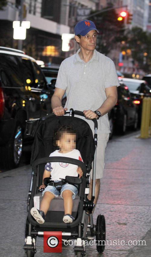 Anthony Weiner and And His Son Jordan 11