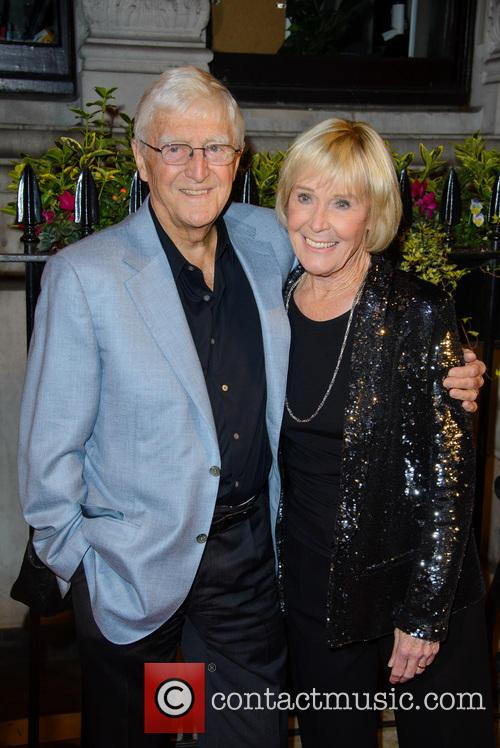 Michael Parkinson and Mary Berry 2
