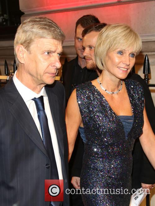 Arsene Wenger and Annie Brosterhous 3