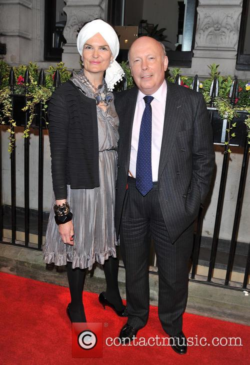 Julian Fellowes and Guest 1