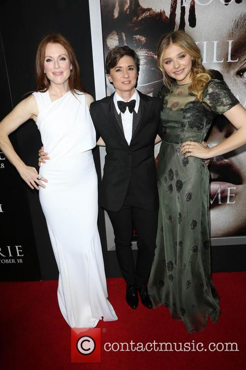 Julianne Moore, Kimberly Peirce and Chloe Grace Moretz 5
