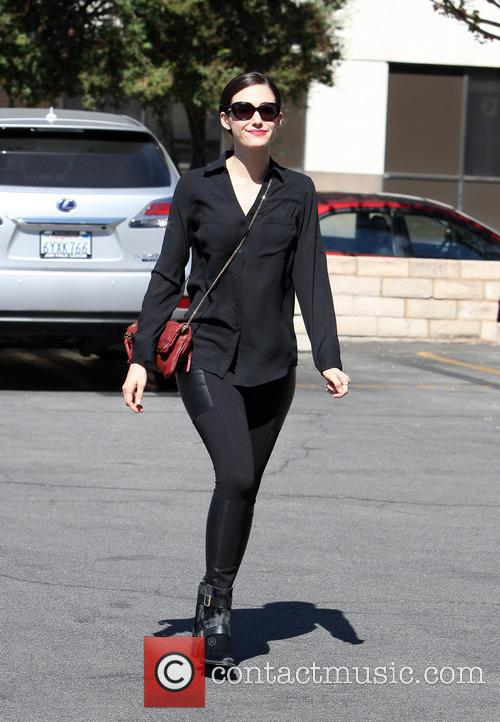 Emmy Rossum In Black