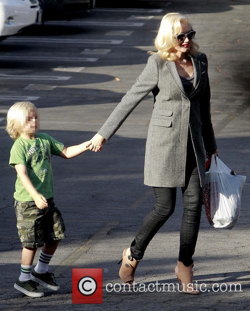 Zuma Rossdale and Gwen Stefani 3