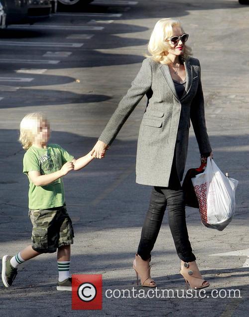 Zuma Rossdale and Gwen Stefani 4
