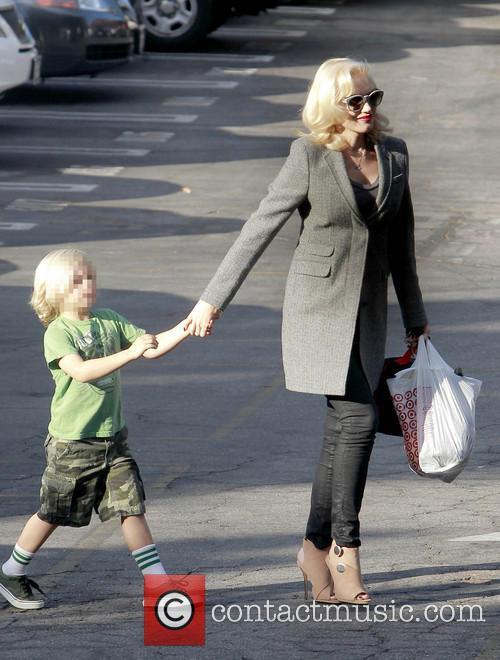 Zuma Rossdale and Gwen Stefani 6