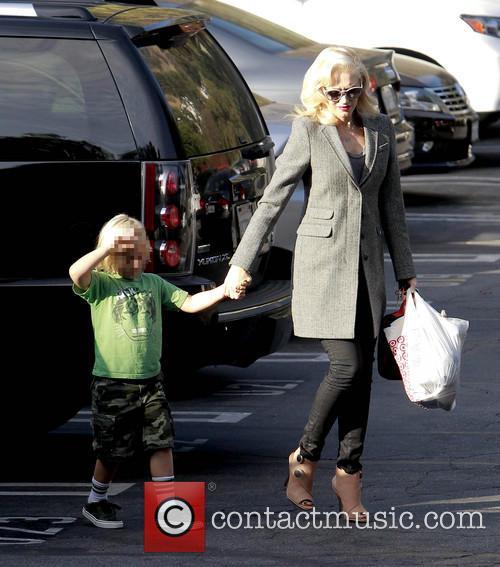 Zuma Rossdale and Gwen Stefani 8