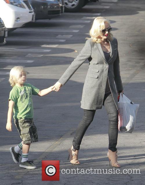 Zuma Rossdale and Gwen Stefani 9