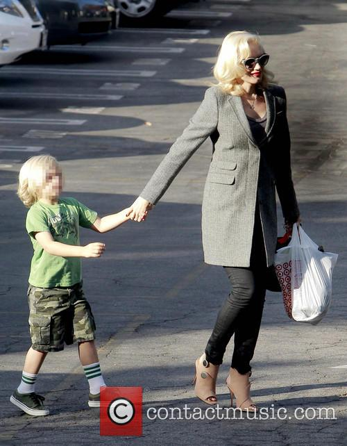 Zuma Rossdale and Gwen Stefani 11