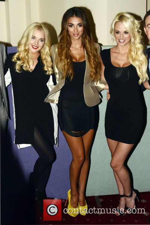 Helen Flanagan, Georgia Salpa and Rhian Sugden
