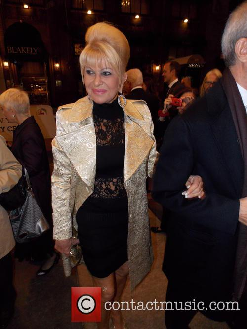 Ivana Trump in NYC
