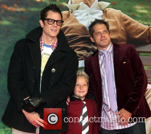 Johnny Knoxville, Jackson Nicoll and Jeff Tremaine 2