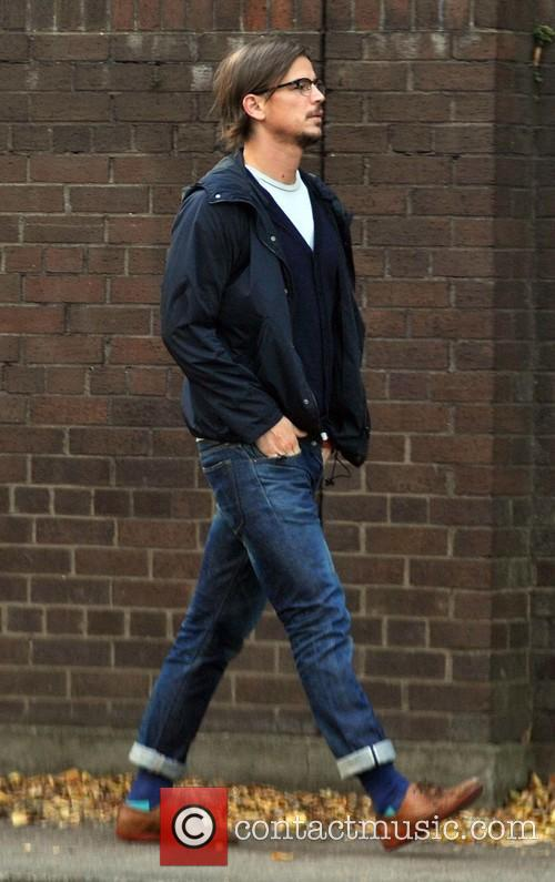 Josh Hartnett out walking in Dublin