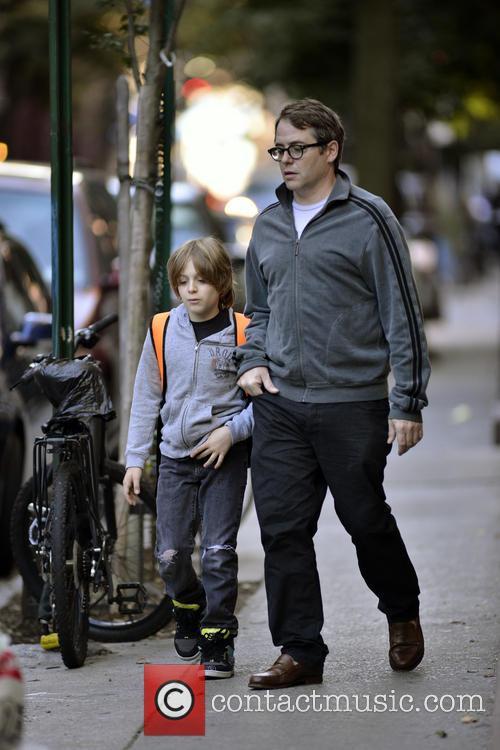 Matthew Broderick and James Broderick 2