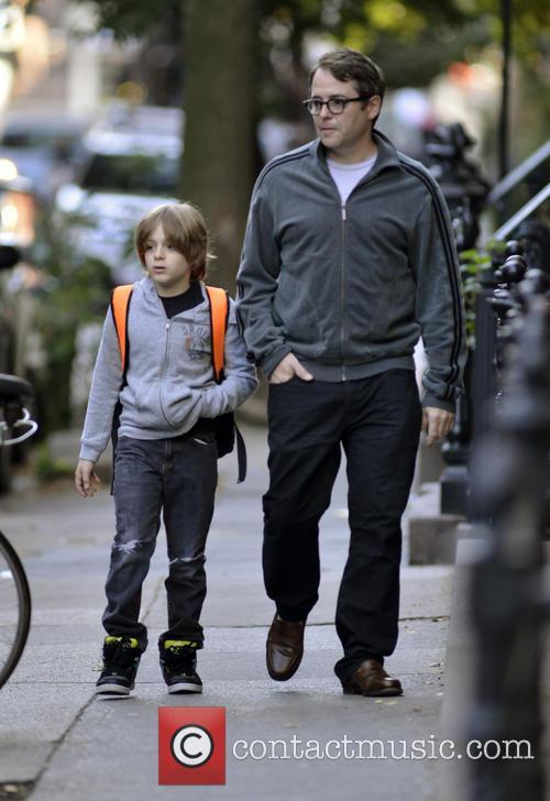 Matthew Broderick and James Broderick 4