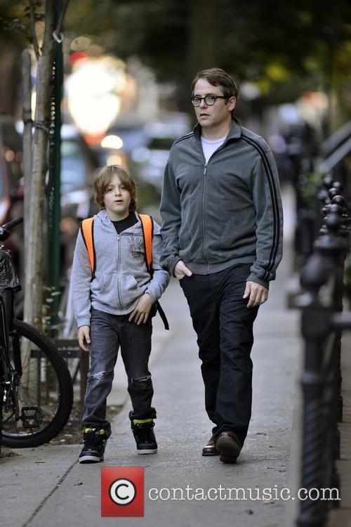 Matthew Broderick and James Broderick 6