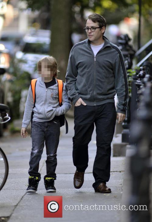 Matthew Broderick and James Broderick 11