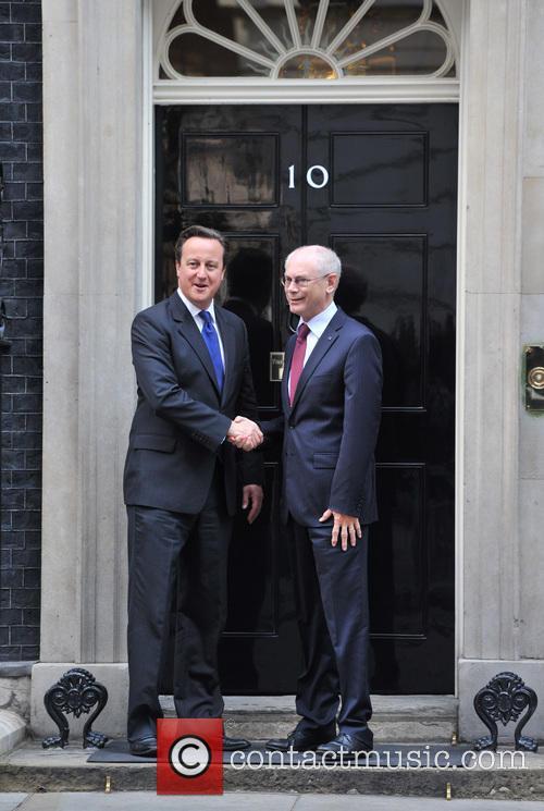 David Cameron and Herman Von Rompuy 5