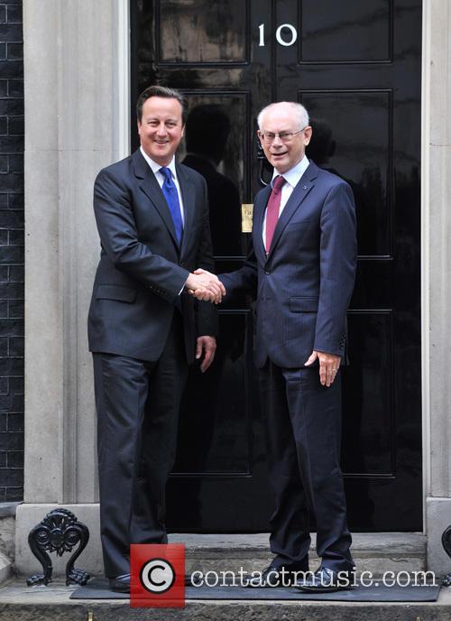 David Cameron and Herman Von Rompuy 6