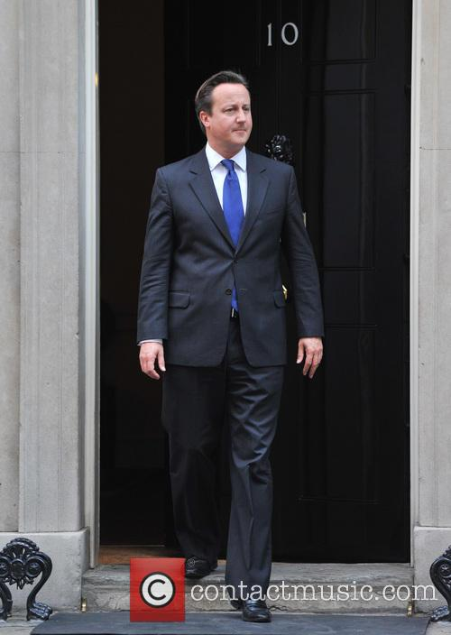 Prime Minister David Cameron meets European Council President...