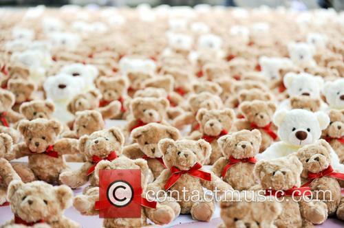Teddy Bears for Meningitis Awareness Day