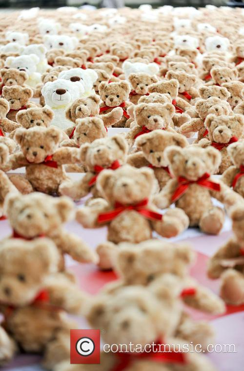 Teddy Bears for Meningitis Awareness Day