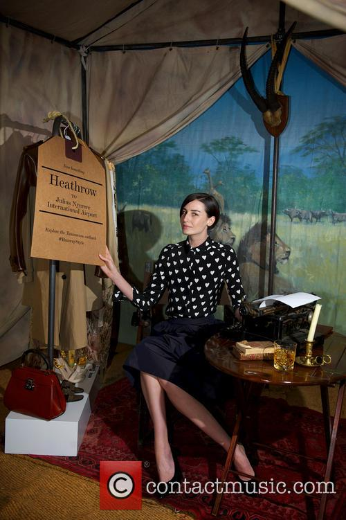 Erin O'Connor unveils Heathrow's new personal shopping services...