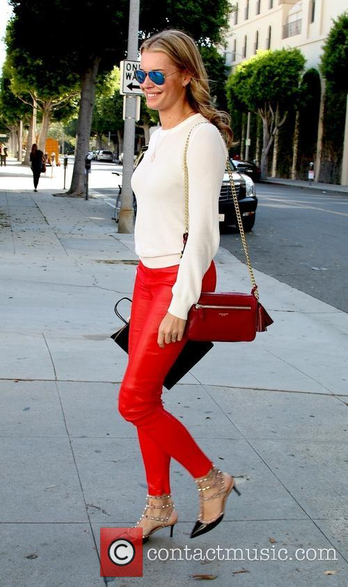 Rebecca Romijn out and about