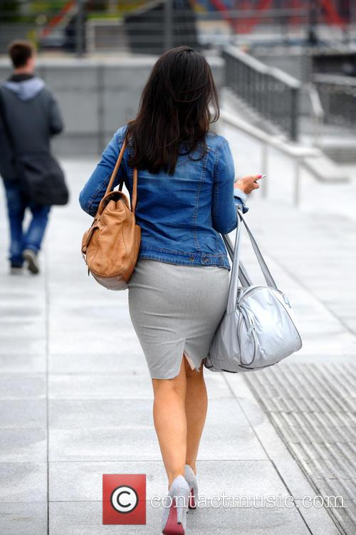 Susanna Reid out and about in Manchester