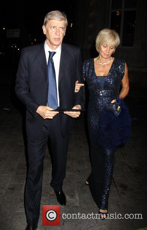Arsene Wenger and Annie Brosterhous 2
