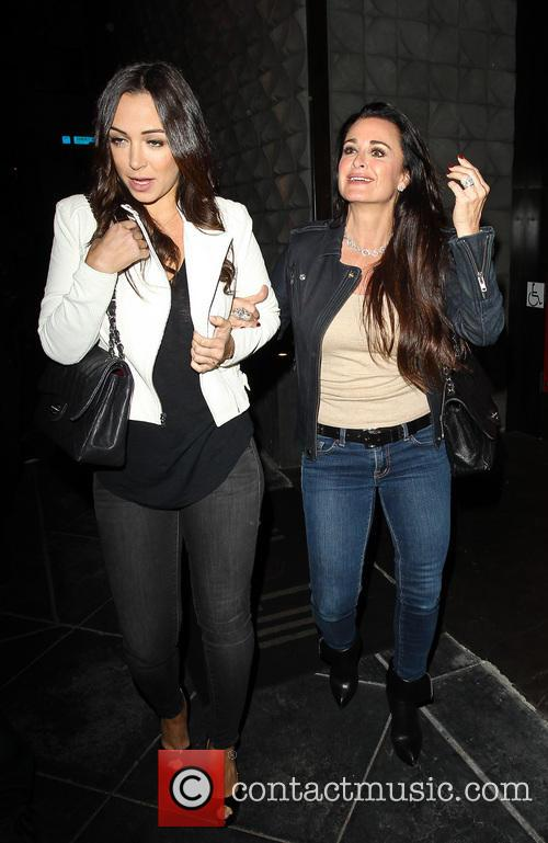 Kyle Richards and Farrah Aldjufrie 2