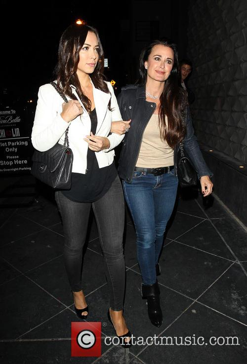 Kyle Richards and Farrah Aldjufrie 3