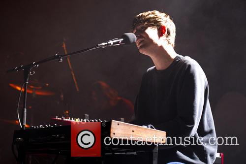 James Blake performing in Berlin