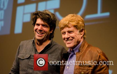 Robert Redford and Jc Chandor 2