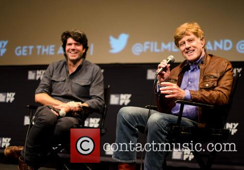 Robert Redford and Jc Chandor 1