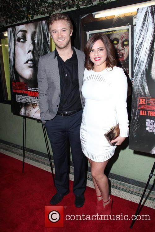 Michael Welch and Melissa Price