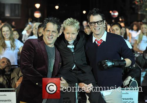 Johnny Knoxville, Jeff Tremaine and Jackson Nicoll 5
