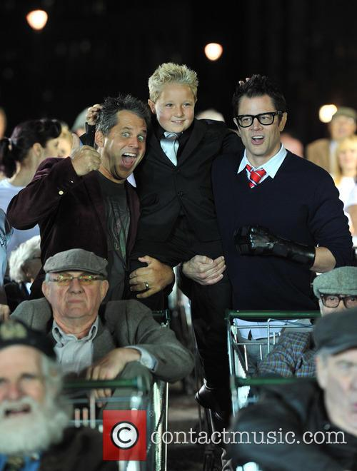 Johnny Knoxville, Jeff Tremaine and Jackson Nicoll 6