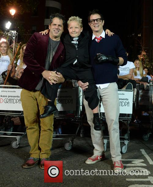 Johnny Knoxville, Jeff Tremaine and Jackson Nicoll 9