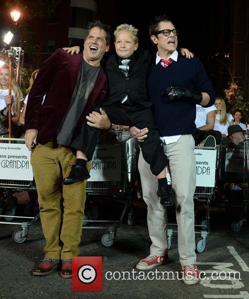 Johnny Knoxville, Jeff Tremaine and Jackson Nicoll 17