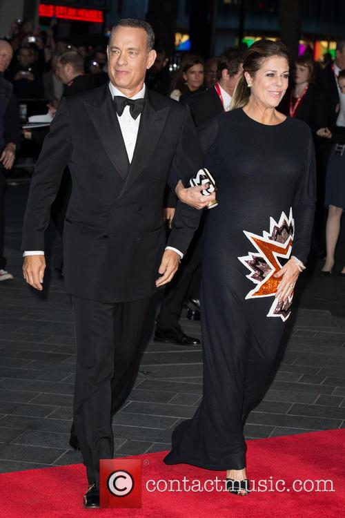 Tom Hanks, Rita Wilson, Leicester Square, Odeon Leicester Square
