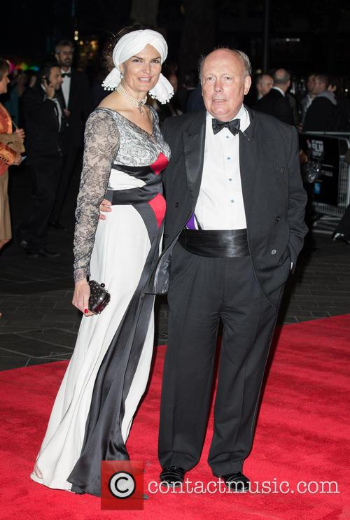 Julian Fellowes and Emma Joy Kitchener 2