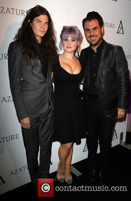 Matthew Mosshart, Kelly Osbourne and Azature Pogosian 7