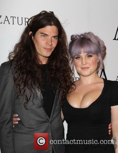 Matthew Mosshart and Kelly Osbourne 1
