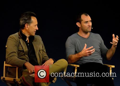 Jude Law and Richard E Grant 6