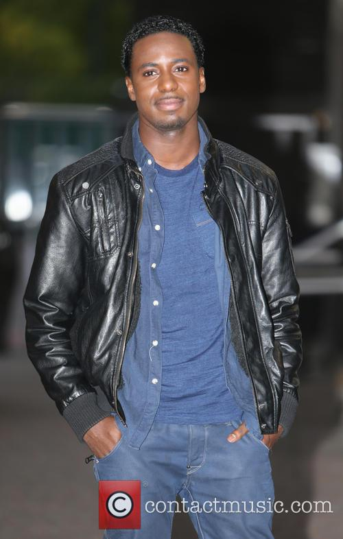 gary carr celebrities at the itv studios 3898691