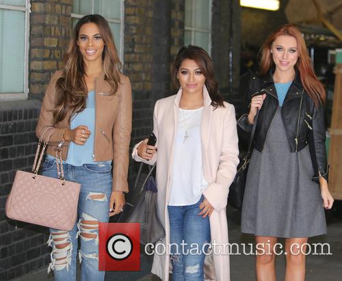 the saturdays celebrities at the itv studios 3899109