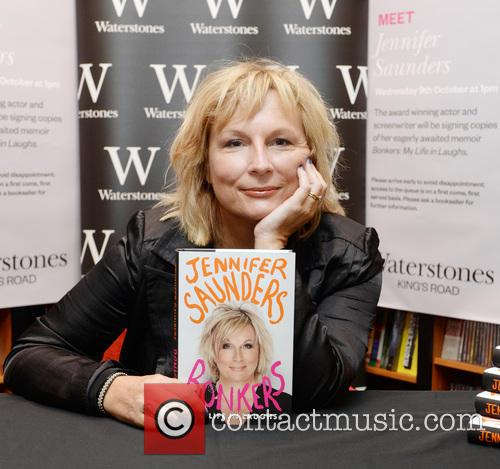 Jennifer Saunders signs copies of her book 'Bonkers:...