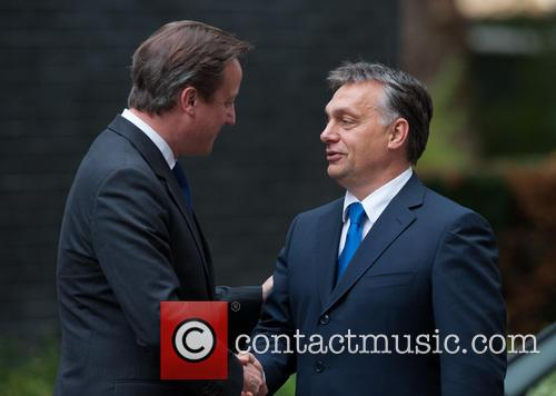 David Cameron and Viktor Orban 5