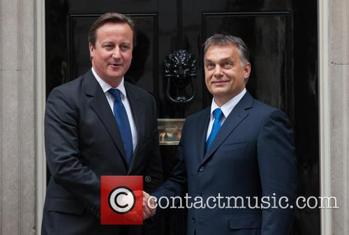 David Cameron and Viktor Orban 1