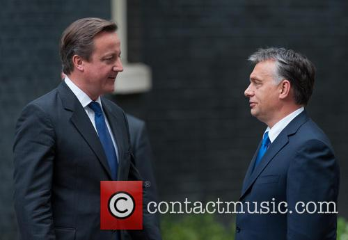 David Cameron and Viktor Orban 9